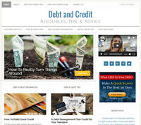 * DEBT & CREDIT RELIEF * affiliate website business for sale with AUTO CONTENT!