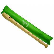 HOHNER B9508 Flauto Dolce diteggiatura Tedesca 1 Foro (fodero Verde Primavera)