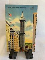 Rare Vintage Postcard - 1940 Rare Stamping - Washington 1 Cent - Used