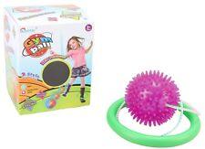 PINK Flashing LED Lights Ankle Leg Skip Ball Jumping Skipping Rope Toy Game