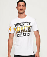 Superdry Super Track Metallic Box Fit T-Shirt