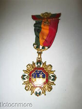 1977 SHRINERS EL JEBEL TEMPLE DENVER COLORADO MEDAL PIN ENAMEL ORIGINAL