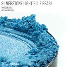 Effektpigment SILVERSTONE LIGHT BLUE PEARL Epoxidharz Lack Dip Nail Sprühfolie