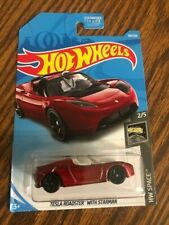 Hot Wheels HW Space Tesla Roadster With Starman - NEW