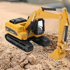 Diecast Alloy Turning Construction Vehicles Excavator Model Toy Gift 1/64 Scale