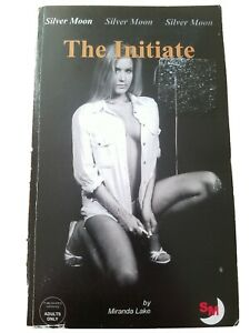 The Initiate Book by Miranda Lake Silver Moon  paperback erotic fiction