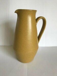 Denby, Mustard Colour 19 cm Height Jug