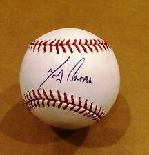 Melky Cabrera autograph baseball BLUE JAYS YANKEES GIANTS COA