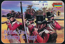 Strelets-R 1/72 M070 British Line Infantry in Egypt (Napolenic Wars) (52 Figs)