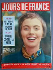 ►JDF 108-1956-JEAN SEBERG JEANNE D'ARC-INGRID BERGMAN-DE SICA-JEUX OLYMPIQUES...