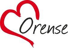 """Auto Aufkleber """" ORENSE """" Ourense Sticker Stadt Spanien ca.9x12cm konturge."""