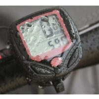 Bike Computer With LCD Digital Display Waterproof Bicycle Odometer Speedometer