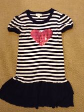 girls knitted nautical christmas THE CHILDRENS PLACE sequins 7-8 years