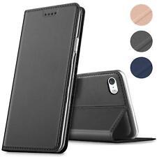 Handy Hülle für iPhone SE iPhone 5S Book Case Schutzhülle Tasche Slim Flip Cover
