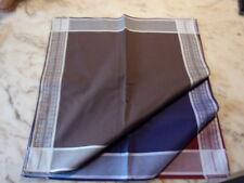 6 mouchoirs homme 100% coton tissées luxe n°264