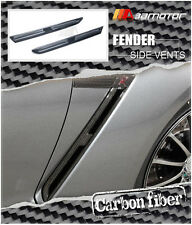 Carbon Fiber Front Fender Wing Side Vents Set for 2009-2015 Nissan GT-R GTR R35