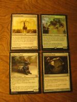 Commander Artifact Lot 4, LP, Magic the Gathering, EDH Commander Foil Colossus