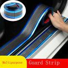 Carbon Fiber Protector Sticker Sill Scuff Cover Door Body Anti Scratch Strip Car