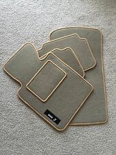 BMW E90 E91 CARPET FLOOR MATS SET TAN