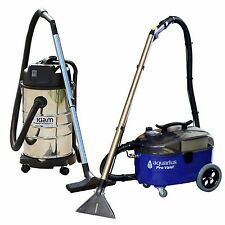Aquarius Pro Valet Carpet Extraction Upholstery Cleaner & KV30B Wet Dry Vacuum