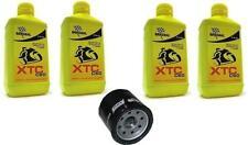 Kit Tagliando 4lt Bardahl XTC 15W50 Filtro Olio 204 KAWASAKI 800 DRIFTER 03/06