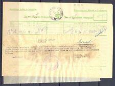 GERMANY OCCUPATION YUGOSLAVIA WW II TELEGRAM  1942 - NOVIKNEZEVAC -