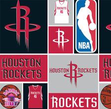 NBA Houston Rockets Cotton Fabric