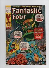 Fantastic Four #108 - 1st App Nega-Man Last Kirby Issue - (Grade 9.0) 1971