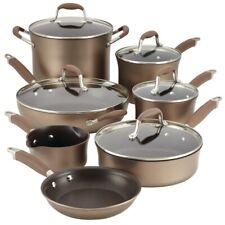 Anolon Advanced Hard-Anodized Nonstick 12-Piece Cookware Set - Bronze - Open Box