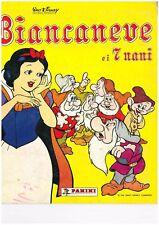 MANCOLISTA ALBUM FIGURINE BIANCANEVE E I SETTE NANI 1987 - 1994 NUOVE € 0,10