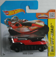 Hot Wheels Hover Storm Luftkissenboot rot/schwarz Neu/OVP Hovercraft Mattel HW