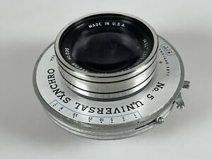 "Ilex Calumet Caltar f6.3 14 3/4"" 375mm 8x10, 11x14 Large Format Camera Lens"