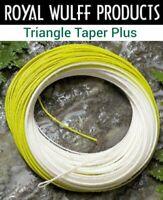 TTN4F Farbe gelb WF-4-Floating Wulff Triangle Taper Nymph NEU