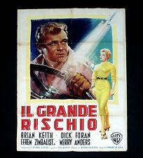 IL GRANDE RISCHIO manifesto poster Foran Violent Road Volante Steering Wheel C72