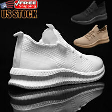 Men's Athletic Sneakers Training Running Workout Slip Fashion Tennis Shoes Gym