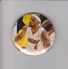 "LeBron James Cleveland Cavaliers Miami Heat 2 1/4"" Button #1"