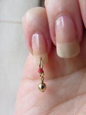 Oro Perline/Palla NAIL Dangle/Charm/Body Jewellery