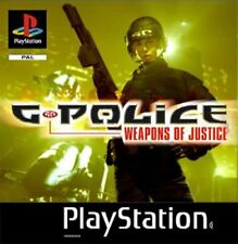 G-Police: Weapons Of Justice PS1 Playstation 1 Video Game Original UK Release