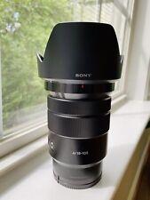 Sony G-Series 105mm f/4 Lens (SELP18105G)