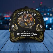 Pittsburgh Steelers Classic Cap Nfl Football 3D Hat Apparel Cap For Fan.