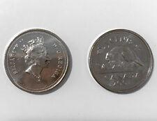 2001 No P Canada Ch.UNC Nickel 5 cent coin **LOW MINTAGE; HIGH GRADE**