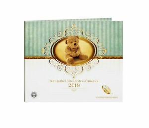 2018 US Mint Birth Coin Set with Uncirculated coins, NOT Proof coins.