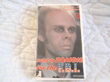 I WAS A ZOMBIE FOR THE F.B.I. VHS 1980'S B&W SCI-FI COMEDY CONTINENTAL VIDEO