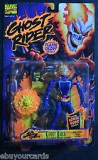 """Ghost Rider 5"""" 1996 Marvel Flame Glow Exploding Torso Comic Book Action Figure"""