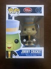 JIMINY CRICKET - Disney Funko Pop #07 - Red Disney Store Logo - VAULTED RARE!