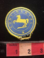 Vtg -Damaged- CONTINENTAL Horse Logo Uniform Or Advertising Patch C762