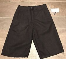 BNWT All Saints Herringbone Black Libertine Shorts Wool Size 6 £110 Sold Out