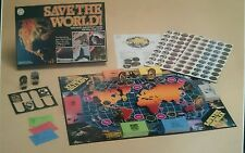 Save The World, Ecological Board Game, Complete & Very good condition