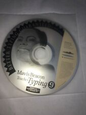 Mavis Beacon Teaches Typing 9 MAC CD learn to type faster more accurate skills