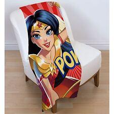 Dc Comics Super-Héros Filles Nouvelle Couverture en Laine Polaire Supergirl